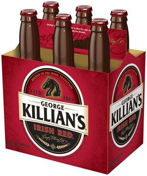 George Killian's Irish Red 12 Oz Premium Lager 6 Pk Glass Bottles