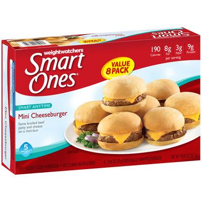 Weight Watchers® Smart Ones® Smart Anytime Mini Cheeseburgers 8 ct Box