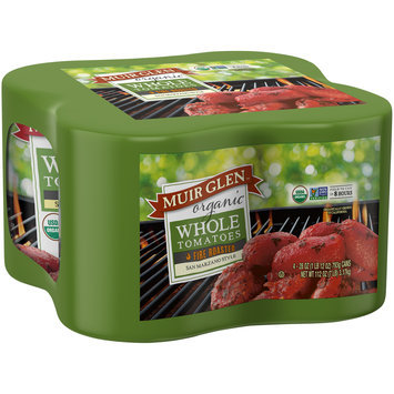 Muir Glen™ Organic San Marzano Style Whole Tomatoes 4-28 oz. Cans
