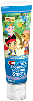 Pro Health Stages Crest Pro-Health Stages Paste Jake and the Neverland Pirates Berry 100 mL, NPN 80002766