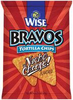 Wise® Bravos® Nacho Cheese Tortilla Chips 0.875 oz Bag