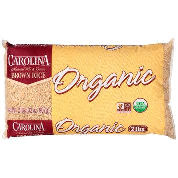 Carolina® Organic Natural Whole Grain Brown Rice 2 lb. Bag
