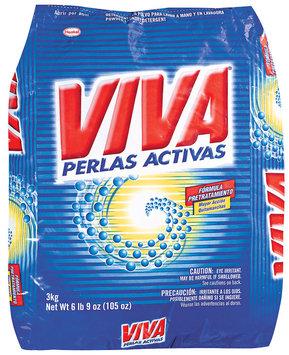 Viva Perlas Activas Powder Laundry Detergent 105 Oz Bag