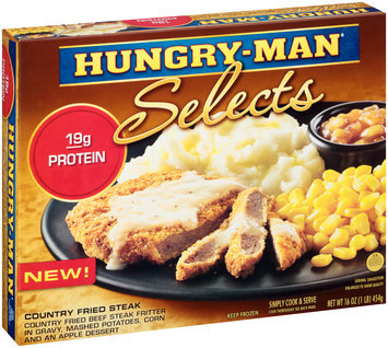 Hungry-Man® Selects Country Fried Steak 16 oz. Box
