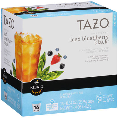 Tazo® Sweetened Iced Blushberry Black™ Tea K-Cup® 16 ct Box