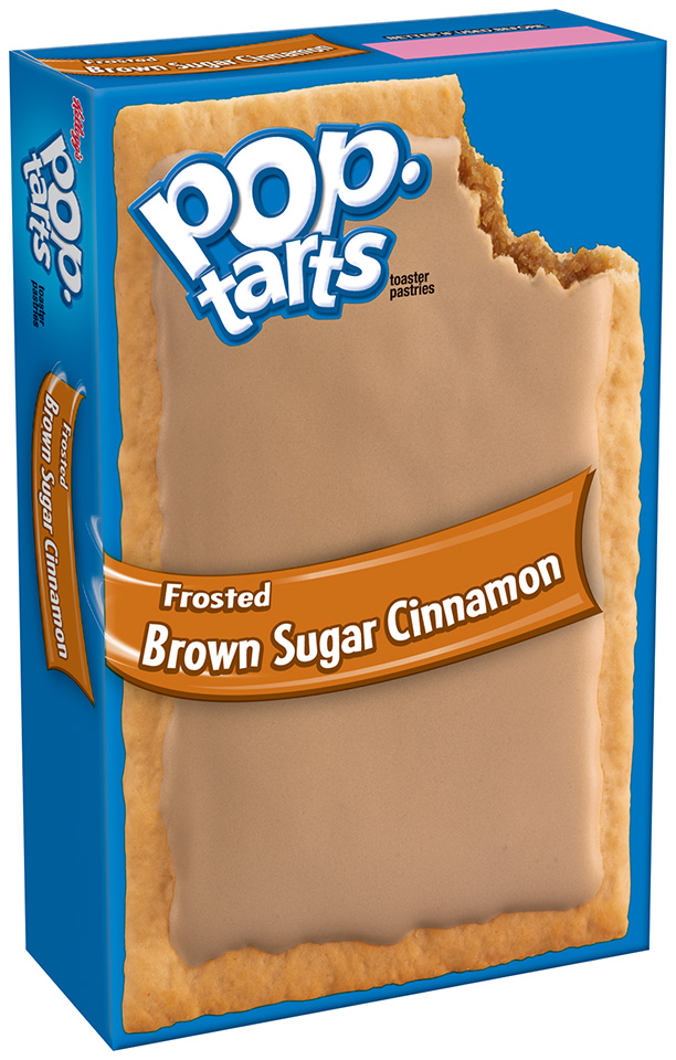 Kellogg's® Pop-Tarts® Frosted Brown Sugar Cinnamon 2 ct Box