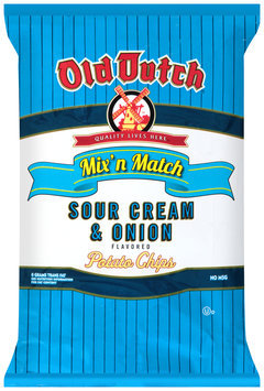 Old Dutch® Sour Cream & Onion Flavored Potato Chips