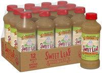 SWEET LEAF USDA-CERTIFIED ORGANIC ICED TEA, Green Tea Citrus 16-ounce plastic bottles