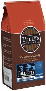 Tully's Coffee Balanced Ground Medium Roast Full City Roast 12 Oz Stand Up Bag