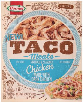 Hormel® Taco Meats Shredded & Seasoned Chicken 12 oz. Pack
