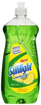 Ultra Sunlight® with LemonOxi™ Apple Twist™ Dishwashing Liquid 25 fl. oz. Bottle