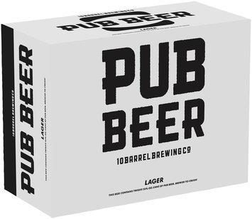 10 Barrel Brewing Co. Pub Beer 12-12 fl. oz. Cans