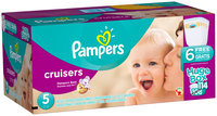 Premium Pampers Cruisers Size 5 Huge Pack 114 Count