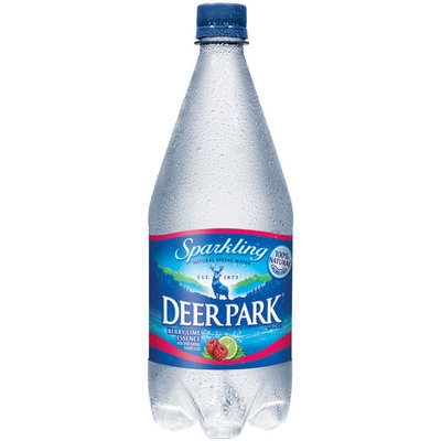 Deer Park Sparkling Natural Spring Water Berry Lime Essence 1L Plastic Bottle