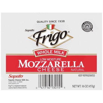 Frigo® Whole Milk Mozzarella Cheese 16 oz.