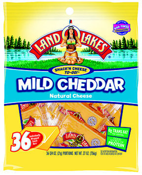 Land O'Lakes® Snack'n Cheese to-Go! Mild Cheddar Cheese