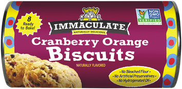 Immaculate® Cranberry Orange Biscuits 8 ct Can