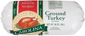 Carolina Turkey  Turkey Ground 80 Oz Chub