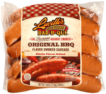 Lucille's Smoke Bar-B-Que™ Original BBQ Smoked Sausage 48 oz. Package