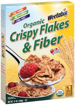 Organic Weetabix Crispy Flakes & Fiber Cereal 12 Oz Box