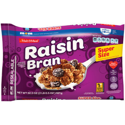 Malt-O-Meal® Raisin Bran Cereal 32.5 oz. ZIP-PAK®