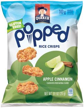 Quaker® Popped® Apple Cinnamon Rice Crisps