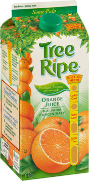 Tree Ripe® Premium Natural with Some Pulp Not from Concentrate Orange Juice 1.75L Carton