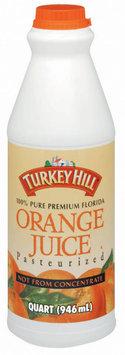 Turkey Hill Not from Concentrate Orange Juice 1 Qt Plastic Bottle