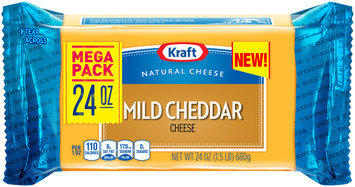 Kraft Mild Cheddar Cheese 24 oz. Brick