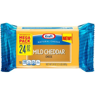 Kraft Mild Cheddar Cheese 24 oz. Brick