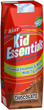 Boost® Kid Essentials™ Chocolate Nutritionally Complete Drink 8.25 fl. oz. Pack