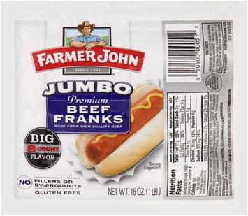 Farmer John® Jumbo Beef Franks