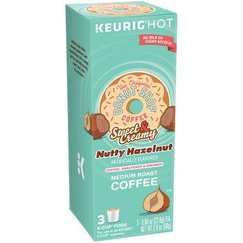 The Original Donut Shop® Coffee Sweet & Creamy Nutty Hazelnut Coffee K-Cup® Pods 3 ct Box