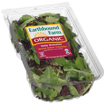 Earthbound Farm® Organic Baby Romaine 10 oz. Container
