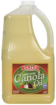 Stater Bros. 100% Pure Canola Oil 128 Fl Oz Jug
