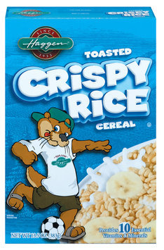 Haggen Toasted Crispy Rice Cereal 13.5 Oz Box