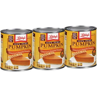 Libby's 100% Pure Pumpkin 3-29 oz. Cans