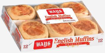 Bays Original 12 Ct English Muffins 24 Oz Tray