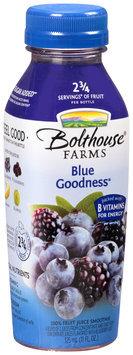 Bolthouse Farms® Blue Goodness® 100% Fruit Juice Smoothie 11 fl. oz. Bottle