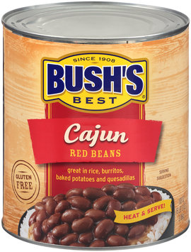 Bush's Best® Cajun Red Beans 108 oz. Can