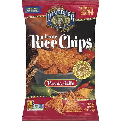 Lundberg® Pico de Gallo Bean & Rice Chips 6 Oz