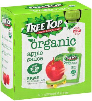 Tree Top® Organic Apple Sauce 4-3.2 oz Pouches