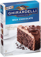 Ghirardelli® Milk Chocolate Premium Cake Mix 12.75 oz. Box
