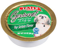 Stater Bros.® Gourmet Dog Food Top Sirloin Flavor in Savory Juices 3.5 oz. Bowl