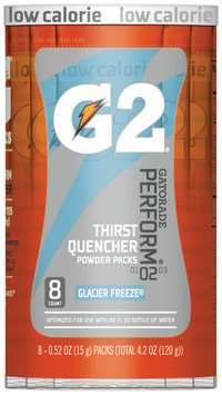 G2® G Series® Perform® Glacier Freeze® Sports Drink Powder 8-0.52 oz. Canister