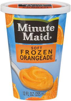 Minute Maid® Soft Frozen Orangeade 12 fl oz. Cup.