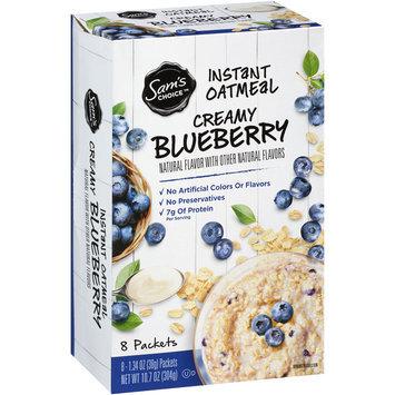 Sam's Choice™ Creamy Vanilla Blueberry Instant Oatmeal