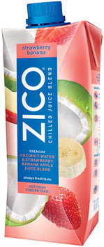 ZICO® Strawberry Banana Chilled Juice Blend 500mL Aseptic Pack