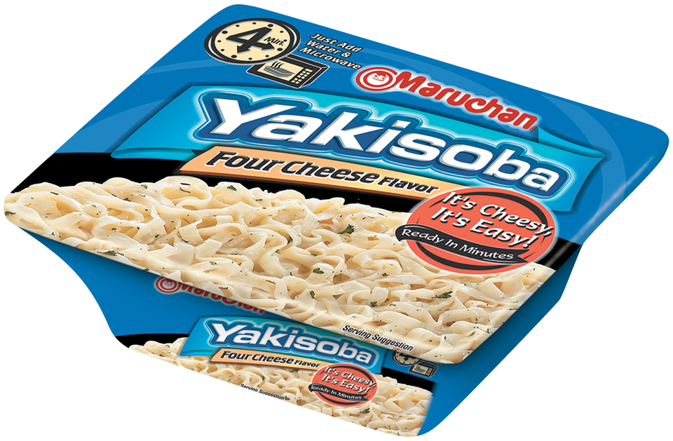 Maruchan® Yakisoba Four Cheese Flavor Noodles 3.91 oz. Bowl