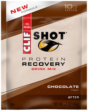 CLIF Shot® Protein Recovery Chocolate Drink Mix 1.6 oz. Packet